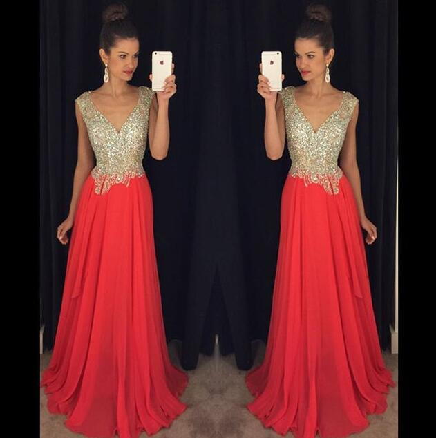 14e87f757fc Red Backless Prom Dresses