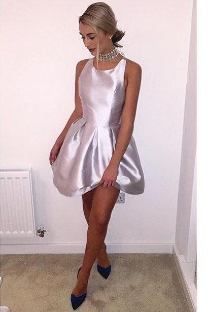 Short Homecoming Dress,Backless Homecoming Dress,Sexy Homecoming Dress,Simple Homecoming Dress,Short Party Dresses,Mini Prom Gown,Cheap Short Prom Dress,Cute Sweet 16 Dress PD20195747