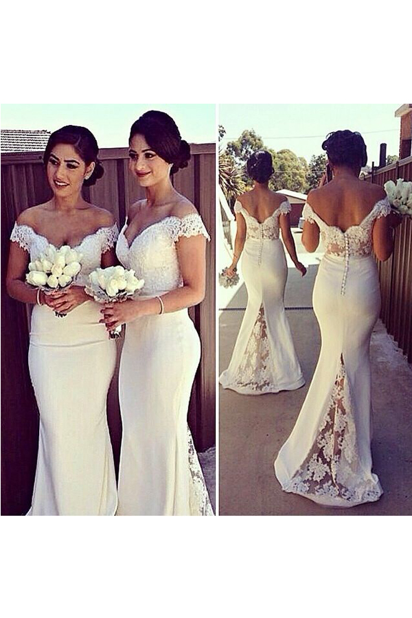 Lace Bridesmaid Dress 297f91304103